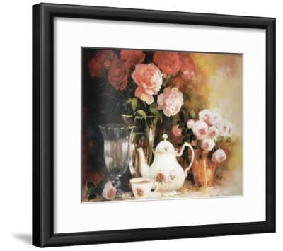 Floral Composition-Lise Auger-Framed Art Print