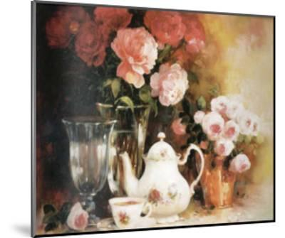 Floral Composition-Lise Auger-Mounted Art Print