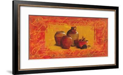 Jarres aux Raisins-V?ronique Didier-Laurent-Framed Art Print