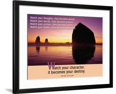 Destiny--Framed Art Print