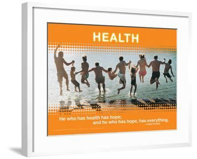 Health--Framed Art Print