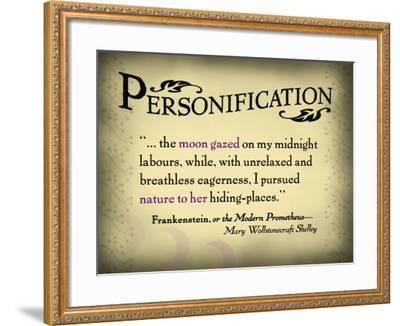 Personification--Framed Art Print
