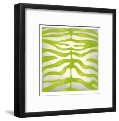 Vibrant Zebra III-Chariklia Zarris-Framed Limited Edition