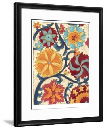 Suzani Splendor II-Chariklia Zarris-Framed Limited Edition