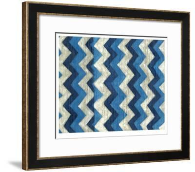 Silk Road Ikat IV-Chariklia Zarris-Framed Limited Edition