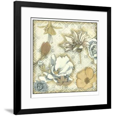 Neutral Floral Keepsake II-Megan Meagher-Framed Limited Edition