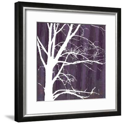 Aurora Silhouette IV-Alicia Ludwig-Framed Giclee Print
