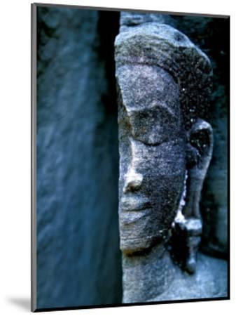 Angkor Wat Face, Cambodia-Charles Glover-Mounted Giclee Print