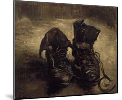 Still Life of Shoes-Vincent van Gogh-Mounted Art Print