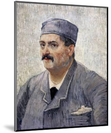 Portrait of a Man with a Skullcap-Vincent van Gogh-Mounted Art Print