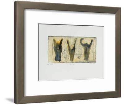 3 vacas-Alexis Gorodine-Framed Limited Edition