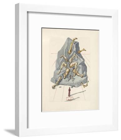 Divine Comedie, Enfer 19: Les Simoniaques-Salvador Dal?-Framed Collectable Print