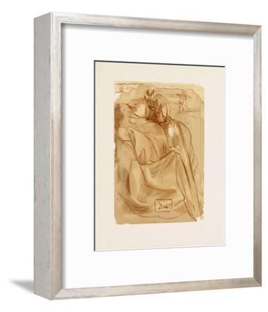 Divine Comedie, Purgatoire 30: L'annonce d'un grand evenement-Salvador Dal?-Framed Collectable Print