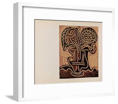 LC - Vase de fleurs-Pablo Picasso-Framed Collectable Print