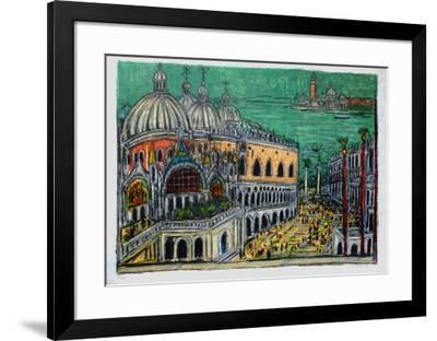 Le Palais de Doges-Andr? Cottavoz-Framed Limited Edition