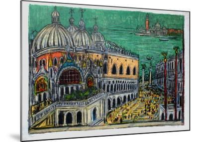 Le Palais de Doges-Andr? Cottavoz-Mounted Limited Edition