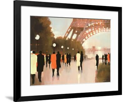Paris Remembered-Lorraine Christie-Framed Art Print