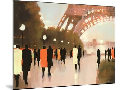 Paris Remembered-Lorraine Christie-Mounted Art Print