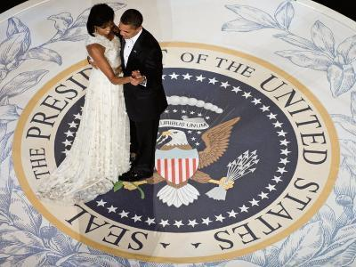 President Obama and the First Lady--Art Print