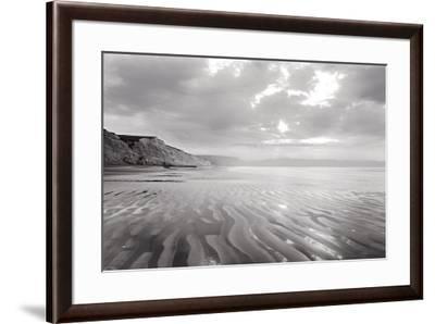 Tidal Patterns, Drakes Beach-Marty Knapp-Framed Art Print