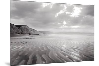 Tidal Patterns, Drakes Beach-Marty Knapp-Mounted Art Print