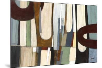 Shadow Field I-Judeen-Mounted Art Print