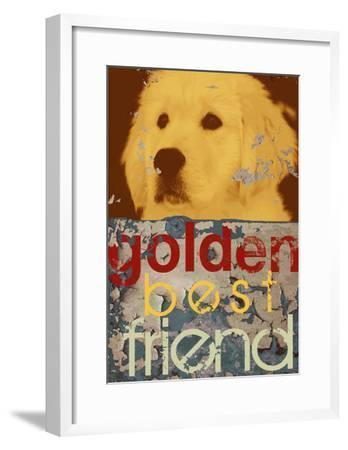 Goldie-Mj Lew-Framed Art Print
