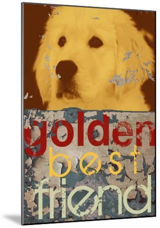 Goldie-Mj Lew-Mounted Art Print