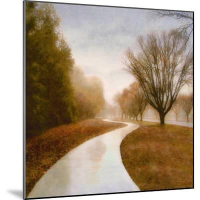 Autumn Path-Sally Wetherby-Mounted Art Print