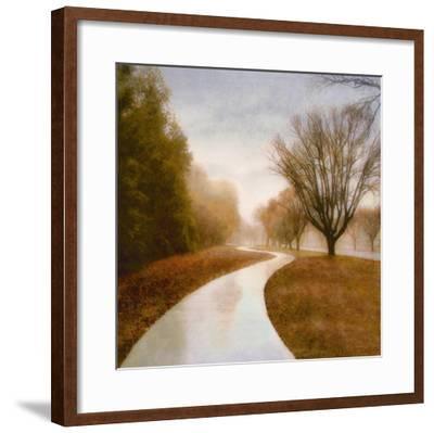 Autumn Path-Sally Wetherby-Framed Art Print