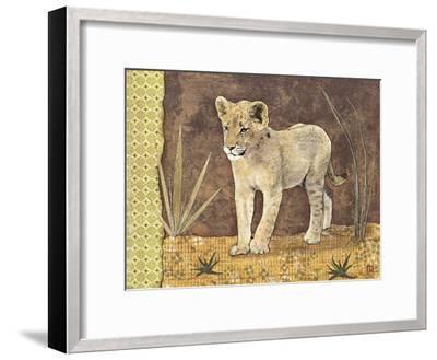 Lionceau-Gwena?lle Trolez-Framed Art Print