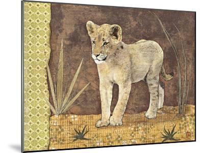 Lionceau-Gwena?lle Trolez-Mounted Art Print