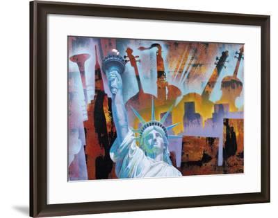 Broadway Folies- Nansky-Framed Art Print