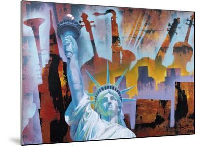 Broadway Folies- Nansky-Mounted Art Print