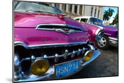 Desoto in Pink-Charles Glover-Mounted Giclee Print