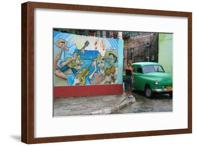 Salsa Rumba and Latin Jazz-Charles Glover-Framed Giclee Print