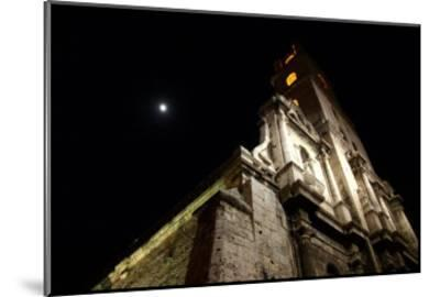 Moonlit Church-Charles Glover-Mounted Giclee Print