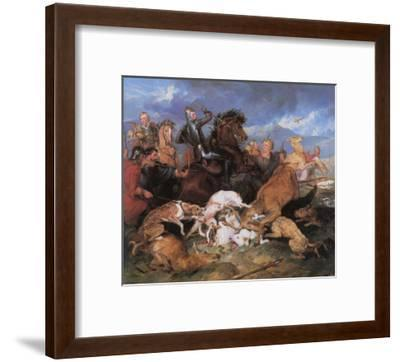 The Hunting of Chevy Chase-Edwin Henry Landseer-Framed Giclee Print