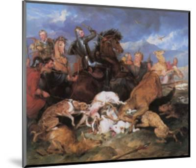 The Hunting of Chevy Chase-Edwin Henry Landseer-Mounted Giclee Print