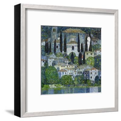 Church in Cassone-Gustav Klimt-Framed Giclee Print