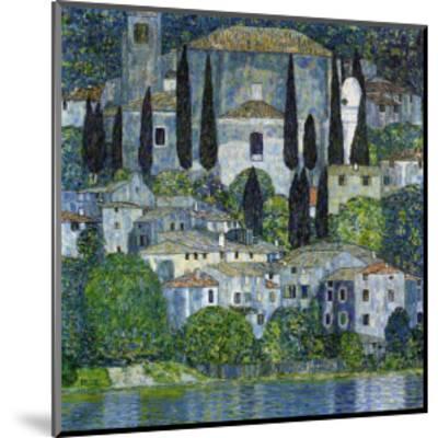 Church in Cassone-Gustav Klimt-Mounted Giclee Print
