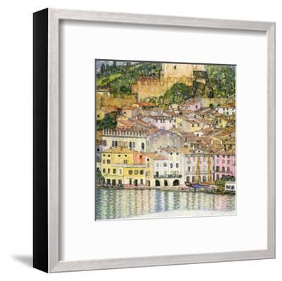 Malcesine on Lake Garda-Gustav Klimt-Framed Giclee Print
