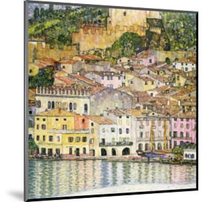 Malcesine on Lake Garda-Gustav Klimt-Mounted Giclee Print