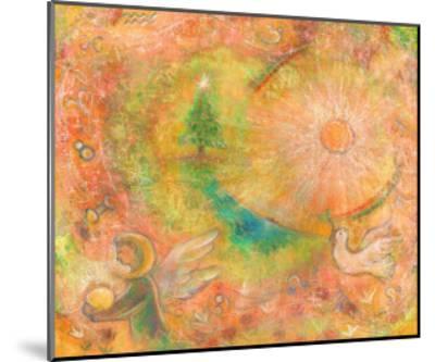 Sounds in the Universe: Dove Tree, and Sun-Miyuki Hasekura-Mounted Giclee Print