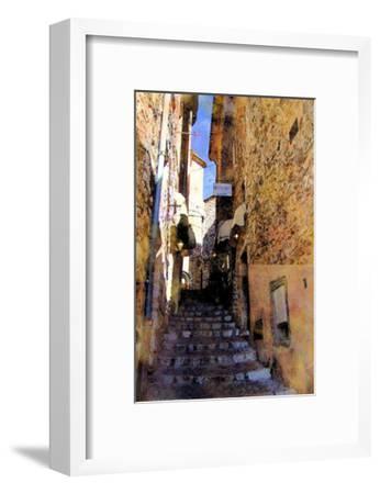 Little Stairs, La Villa, France-Nicolas Hugo-Framed Giclee Print