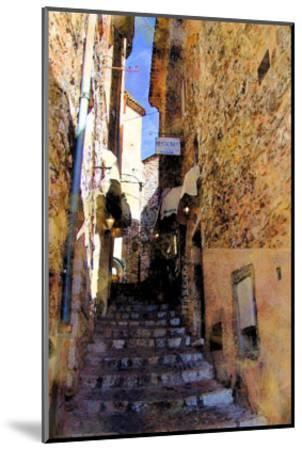 Little Stairs, La Villa, France-Nicolas Hugo-Mounted Giclee Print