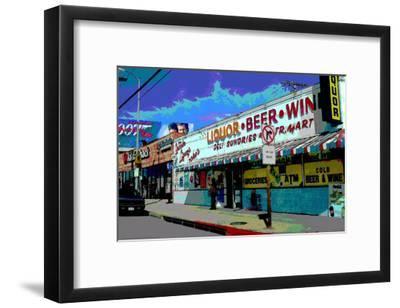 Liquor Beer Wine, Venice Beach, California-Steve Ash-Framed Giclee Print