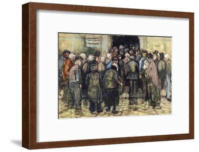 The State Lottery-Vincent van Gogh-Framed Giclee Print