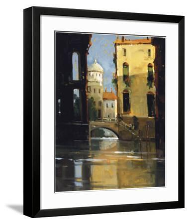 Sunday Morning, Venice-Ted Goerschner-Framed Giclee Print