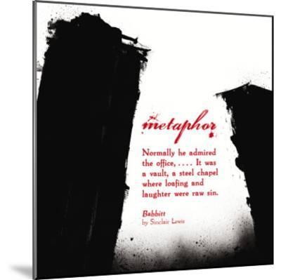 Literary Techniques: Metaphor-Jeanne Stevenson-Mounted Art Print